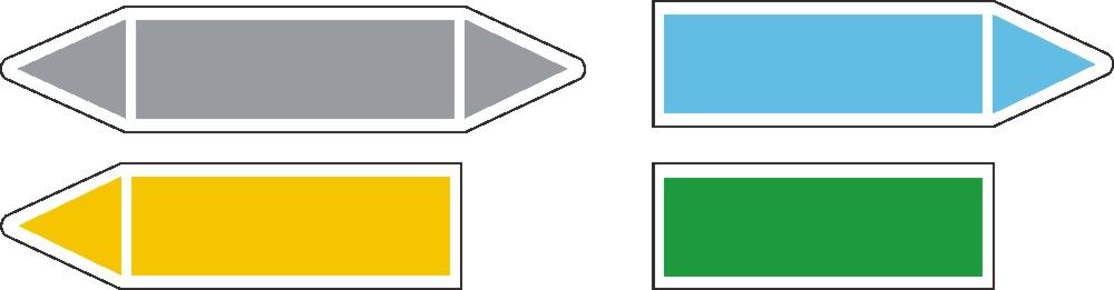 Etiqueta de tuberías