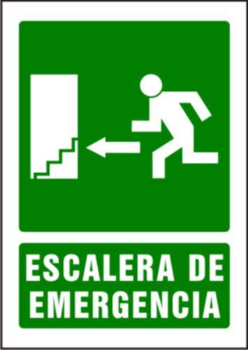 Escalera de emergencia flecha izquierda syssa for Escaleras de emergencia