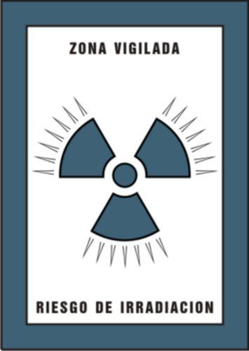 Zona vigilada riesgo de irradiacion